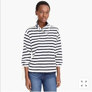 Oversized nautical sweatshirt